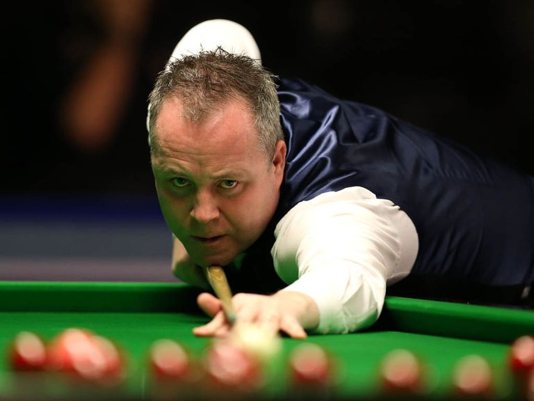 John Higgins: Edged out Judd Trump 4-3