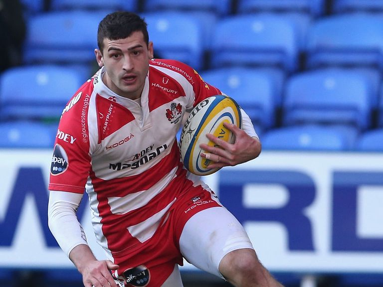 Jonny May scored Gloucester's only try