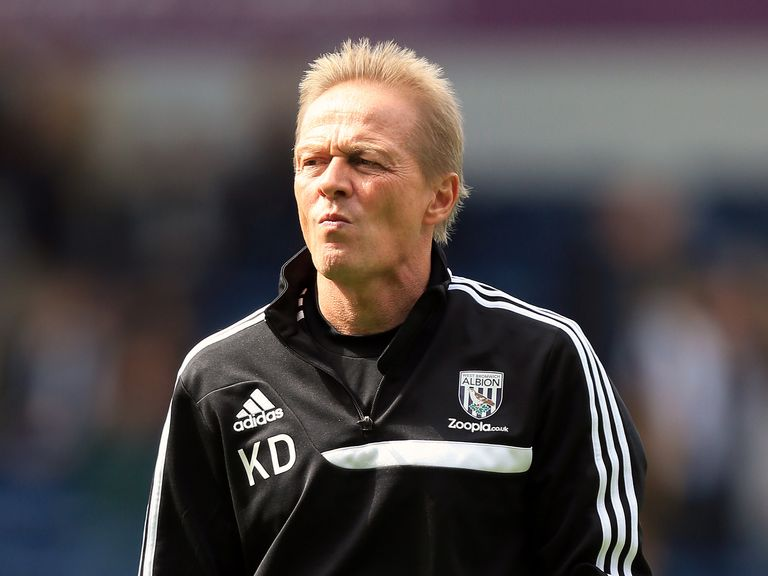Keith Downing: Mixed emotions taking charge at West Brom