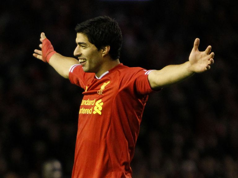 Luis Suarez: Another goal to his tally