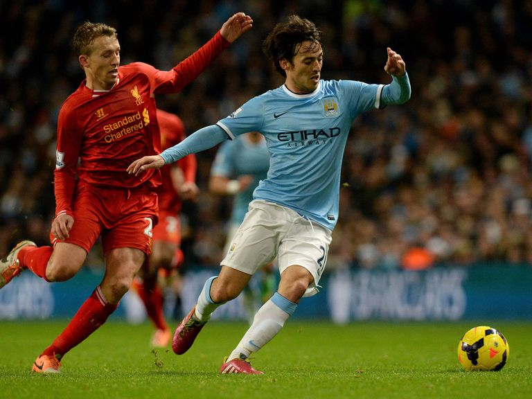 Sky Sports will show Liverpool v Man City live on Sunday April 13