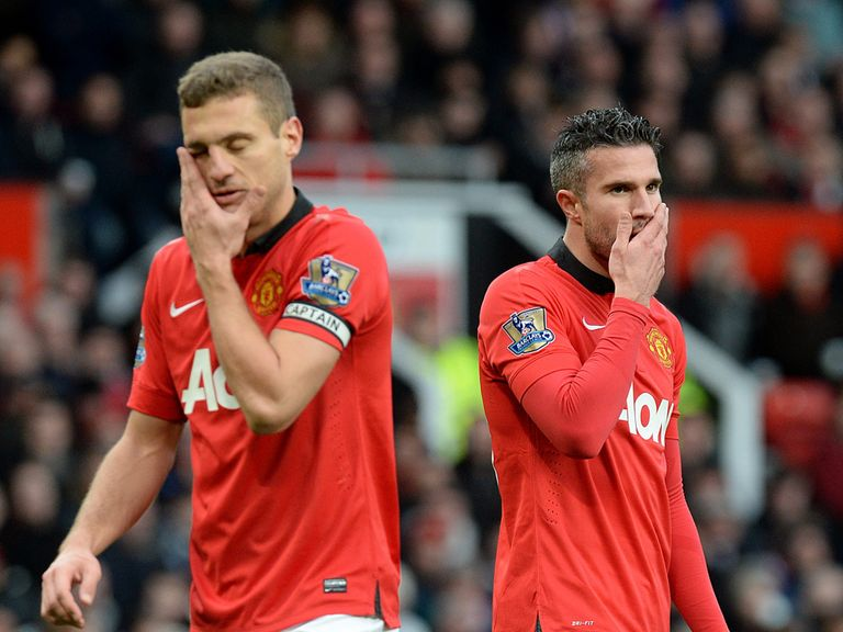 Man United have lost two on the bounce at Old Trafford