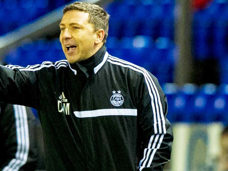 Derek McInnes: Wants the League Cup final to be played in Glasgow