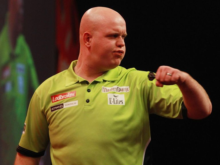 Michael Van Gerwen: Number two seed was too good for Kevin McDine on Sunday
