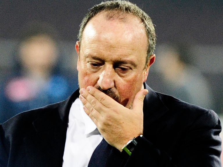Frustration for Rafa Benitez after Napoli draw