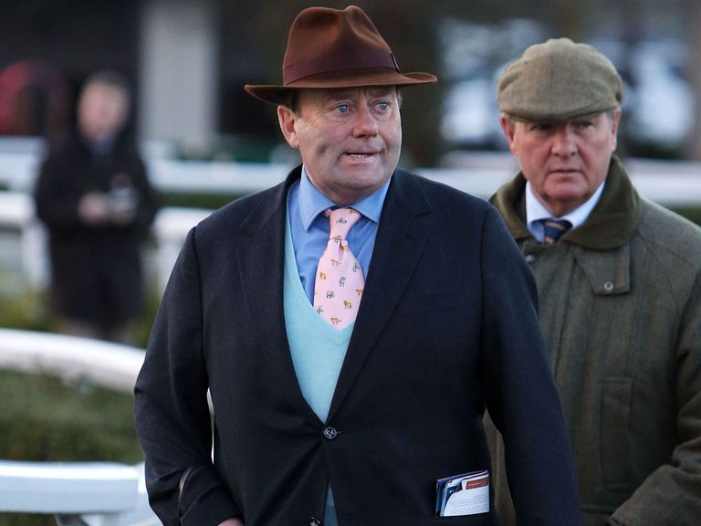 Nicky Henderson: Taking careful approach with Sprinter Sacre