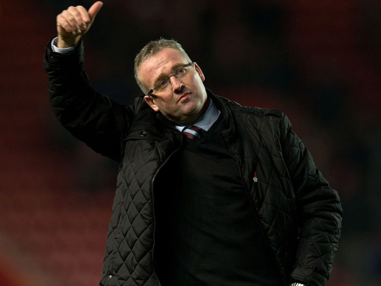 Paul Lambert: Could be in line for a new deal