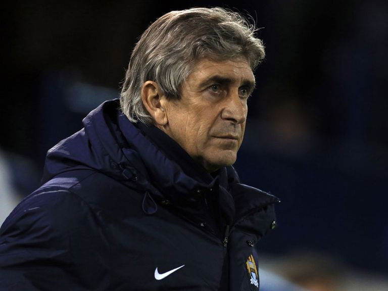 Manuel Pellegrini: Has admitted to making a mistake