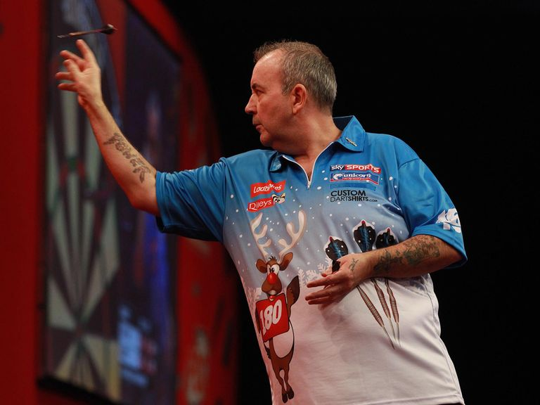 Phil Taylor: Dumped out by Aden Kirk