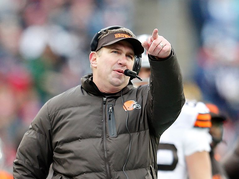 Rob Chudzinski: Fired by the Cleveland Browns after just one year in charge
