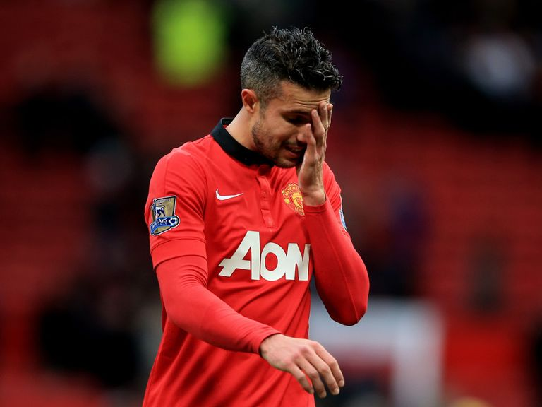 Robin van Persie: Misses Sunday's game at Chelsea