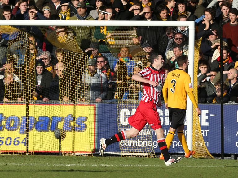 Murphy: Scored Sheffield United's second of the afternoon