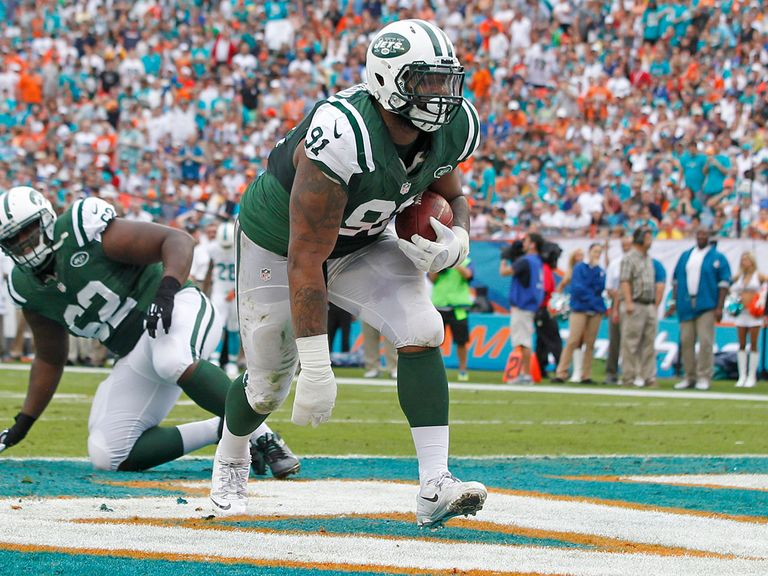 Sheldon Richardson goes in for the Jets