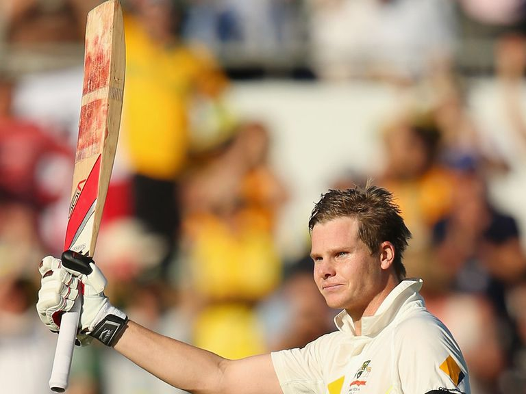 Steve Smith led Australia from 143 for five to 326 for six