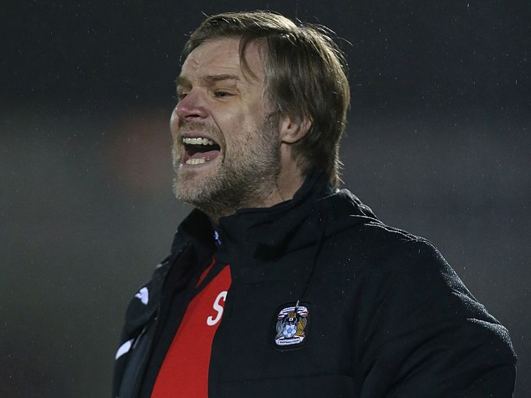 Steven Pressley's Coventry host Oldham on Sunday