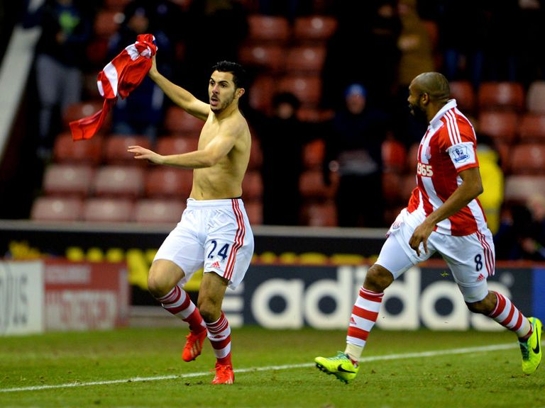 Assaidi: Hopes his wonder goal will lead to more chances