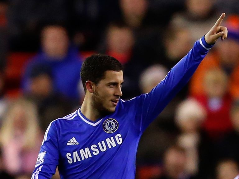 Eden Hazard: Looking good for Chelsea