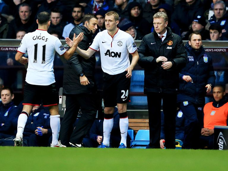 Darren Fletcher: Praised by Man United manager Moyes