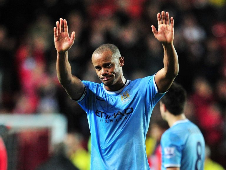 Vincent Kompany: Happy with point at Southampton