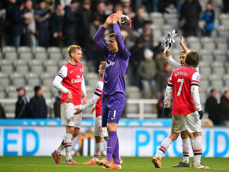 Wojciech Szczesny: Has confidence in Arsenal