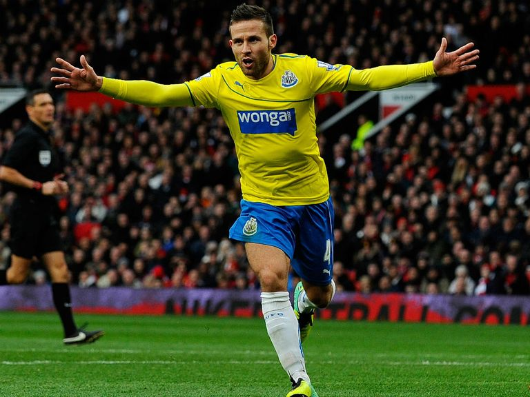 Yohan Cabaye: In good form for Newcastle