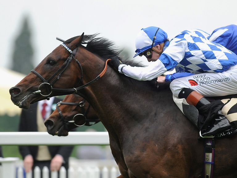 Al Kazeem fends off his rivals to win the Coral-Eclipse at Sandown