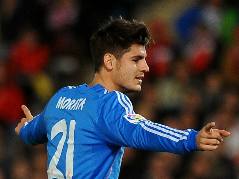Alvaro Morata: Linked with a move to Arsenal