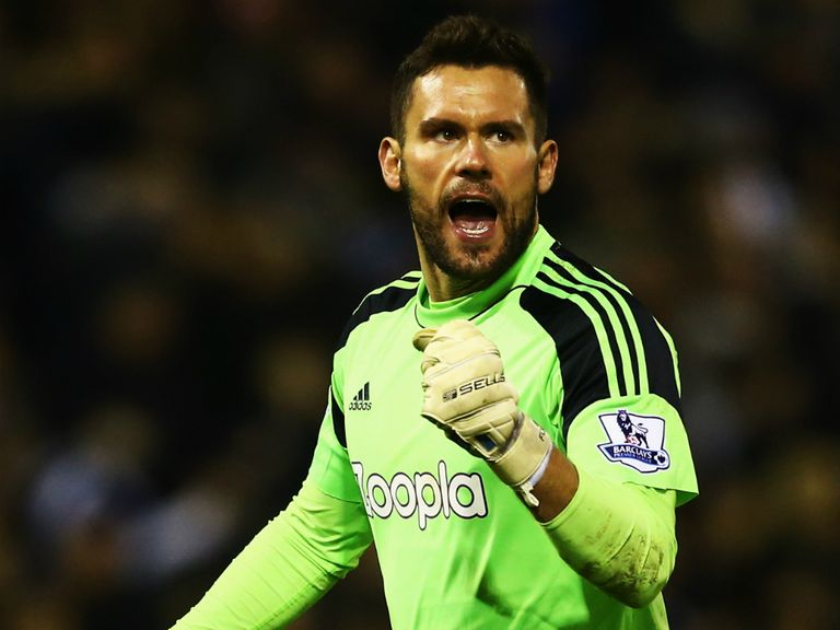 Ben Foster: Admits Albion are in a fight for survival