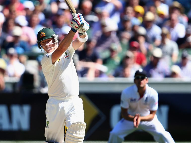 Brad Haddin: Has got stuck into the England bowlers in this series
