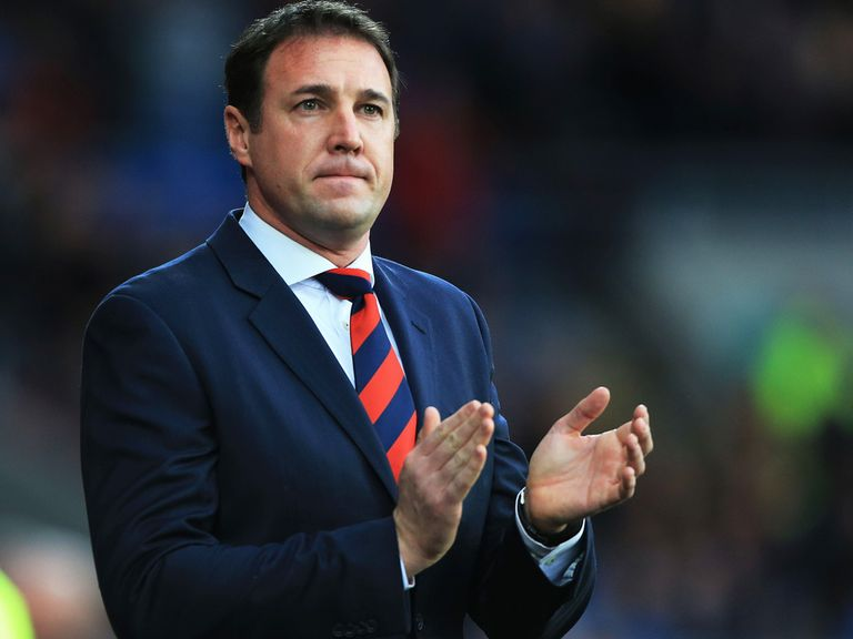 Malky Mackay: Backed by Brendan Rodgers