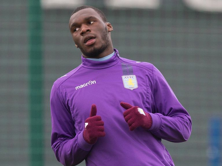 Christian Benteke: Backed to return to form by manager Paul Lambert