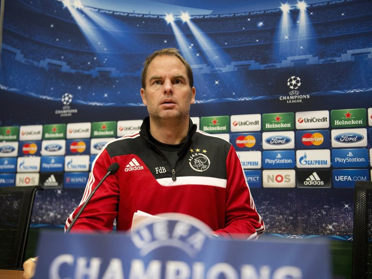 Frank de Boer: Willing to talk to Spurs