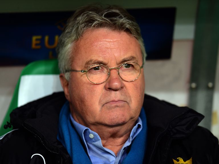 Guus Hiddink: Set for a second spell in charge of Holland