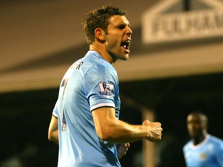 James Milner: Manchester City midfielder praises squad strength