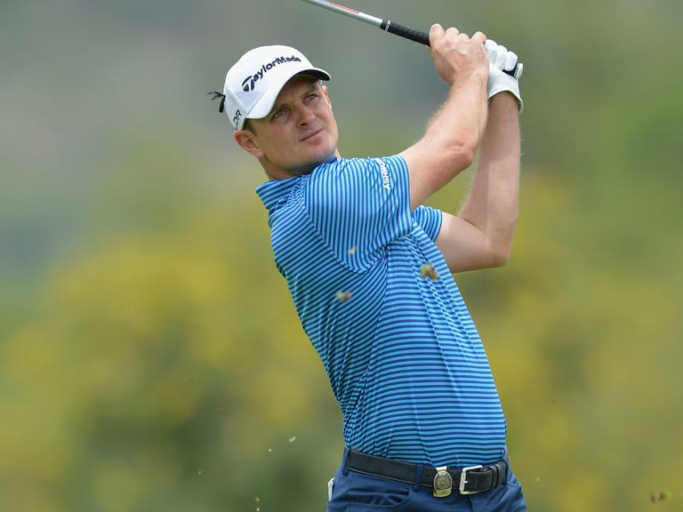 Justin Rose: Aiming to be back to his best by April's Masters tournament