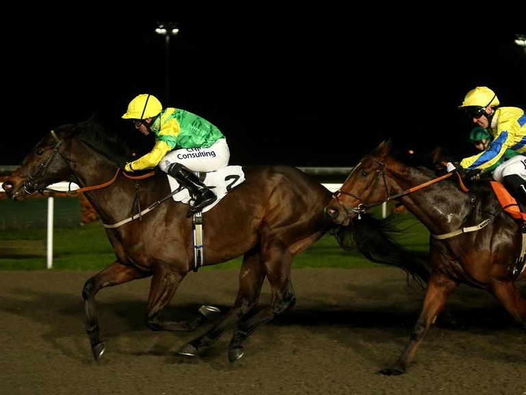Lancelot Du Lac scores at Kempton on his latest start