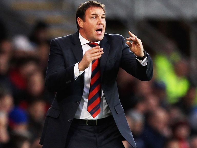 Malky Mackay: Facing the axe at Cardiff