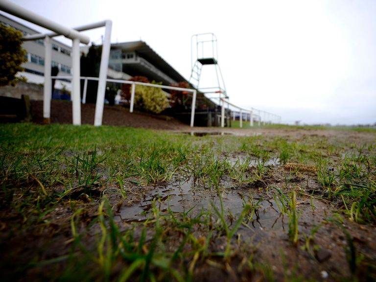 More rain is forecast at Sandown