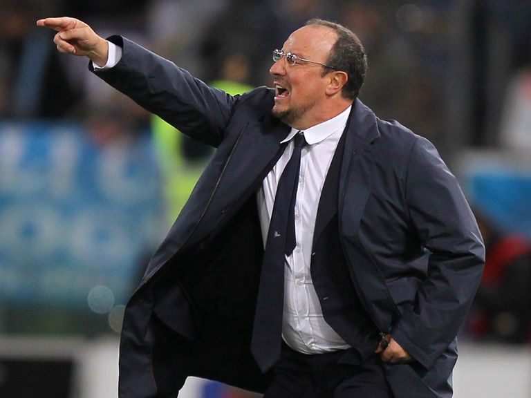 Benitez: Needs a top display from his Napoli players