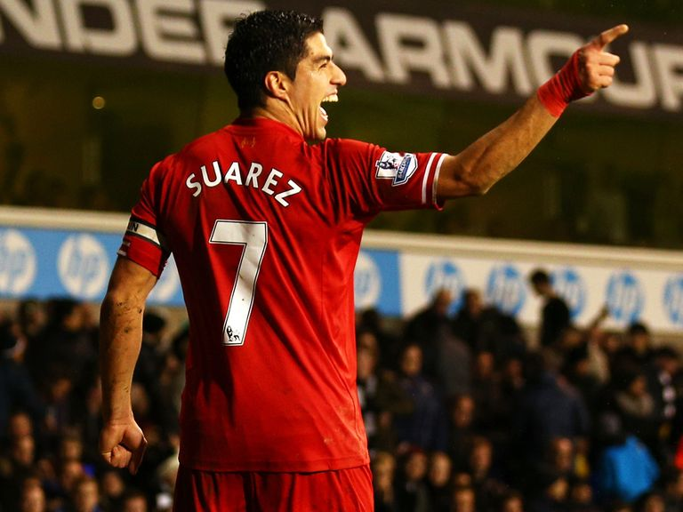 Luis Suarez: Could become Liverpool's highest-paid player