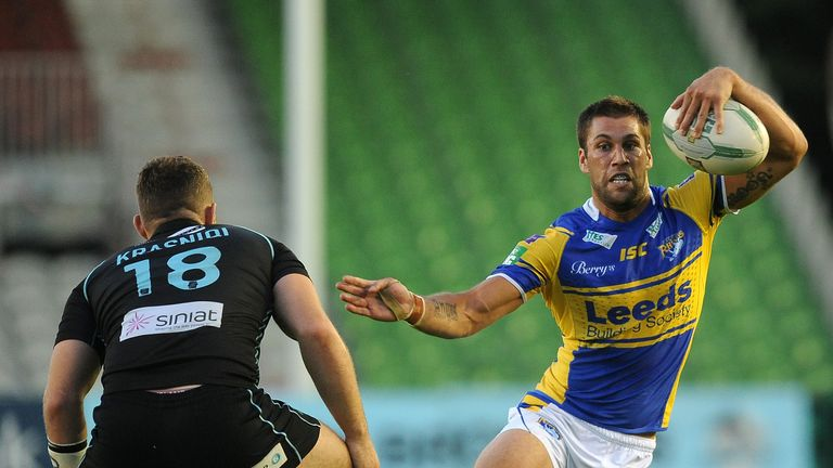 Joel Moon: Scored 17 tries in Super League for Leeds last season