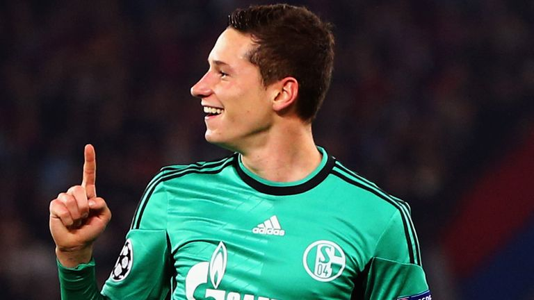 Julian Draxler: Schalke midfielder was Arsenal's transfer target in January
