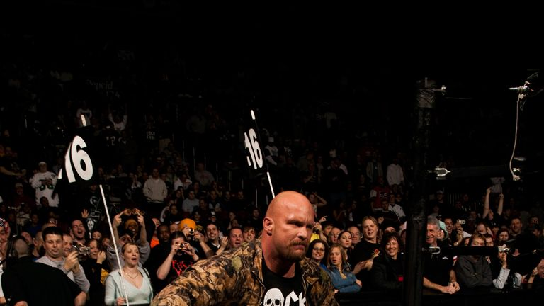 Hot and Cold: Steve Austin has won the Royal Rumble three times