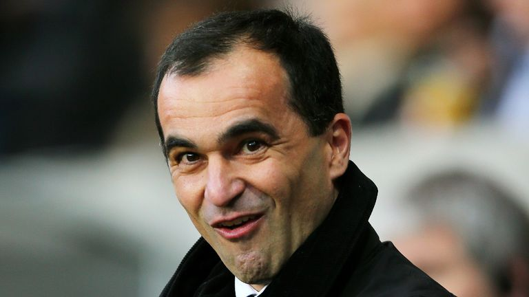 Roberto Martinez: Has Everton sat inside the top four
