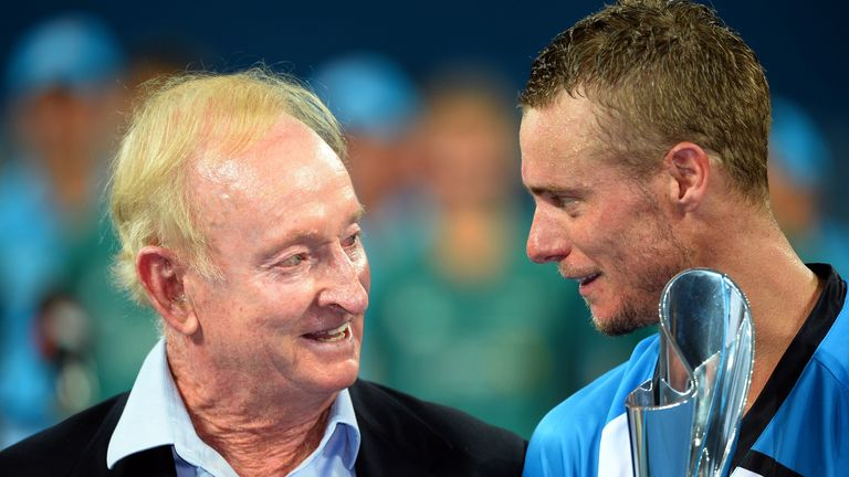 Laver and Hewitt: were the pair picked by Petch?