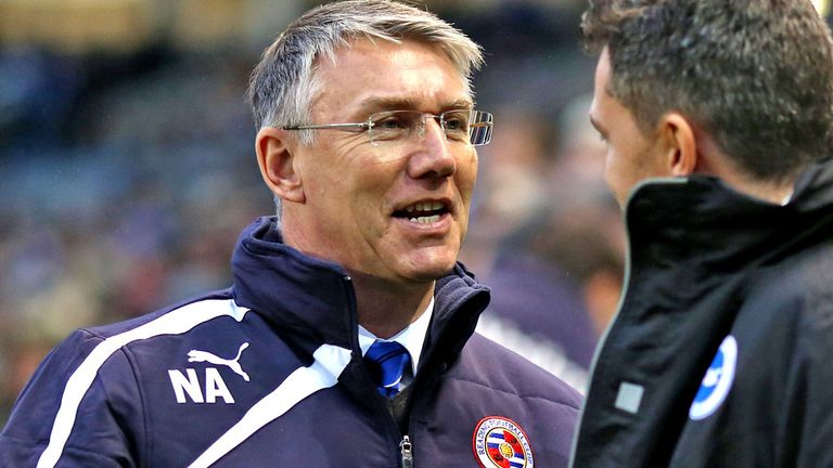 Nigel Adkins: Linked with vacant West Brom job