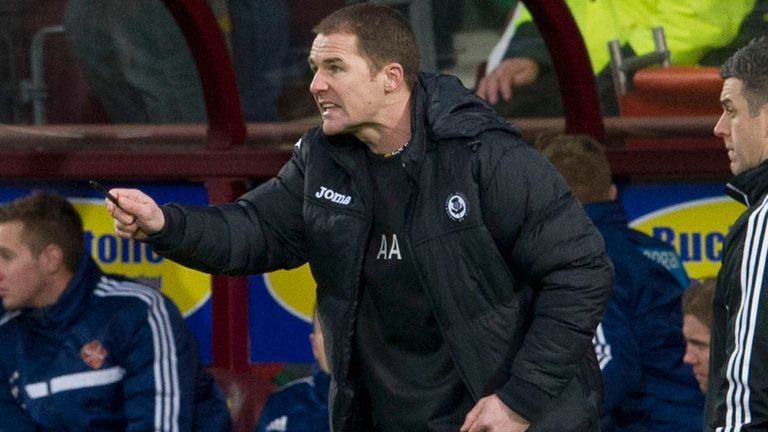 Alan Archibald: Still keen to add to his Partick Thistle squad