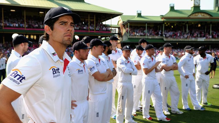 A disastrous Ashes tour has left Alastair Cook and his men plenty to ponder