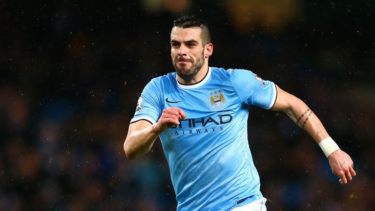 Alvaro Negredo: Remains committed to the Manchester City cause