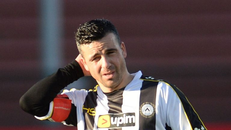 Antonio Di Natale: Has agreed to take in one more year at Udinese